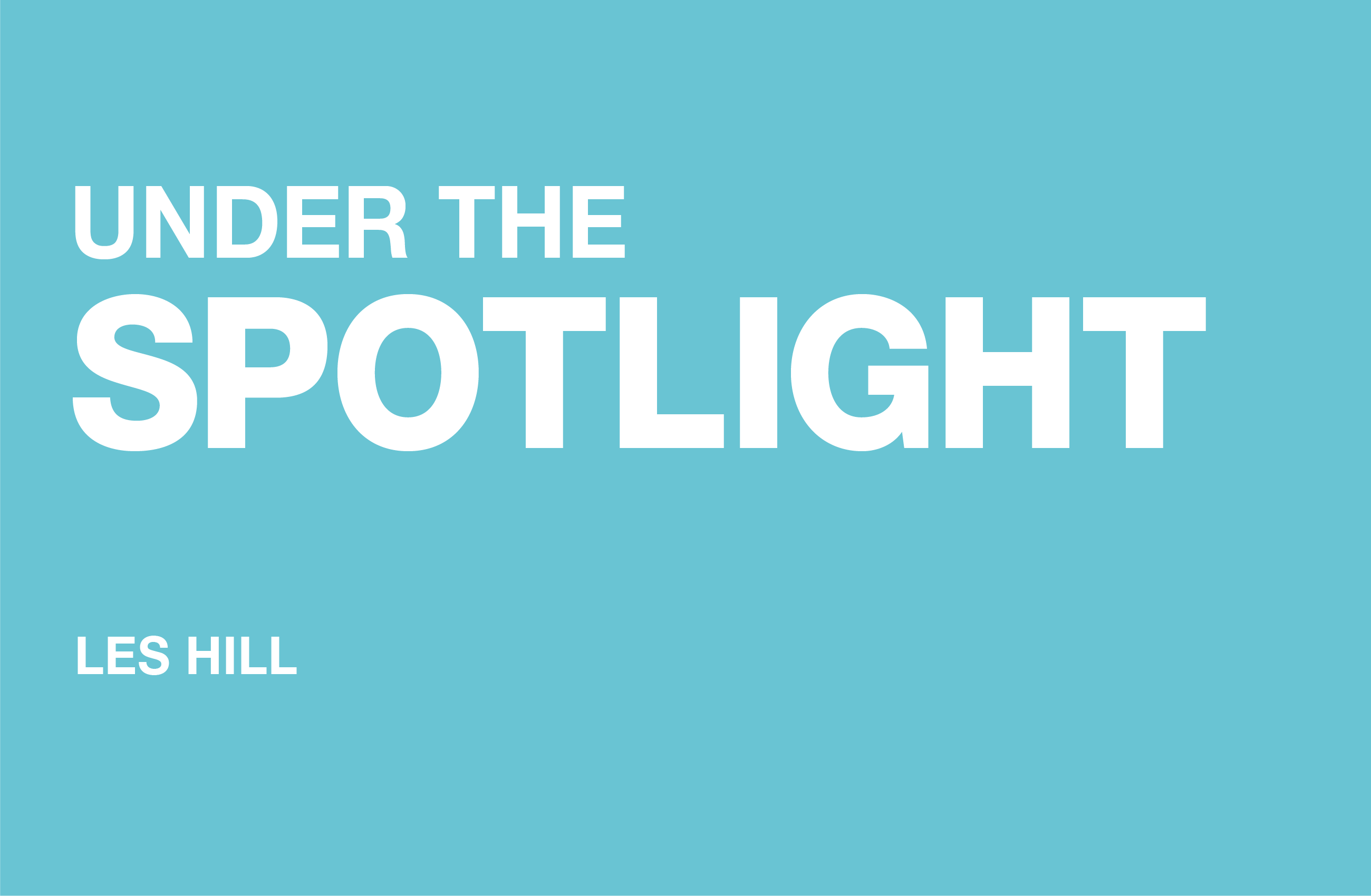 Operations Manager, Les Hill from Dufaylite is under the spotlight